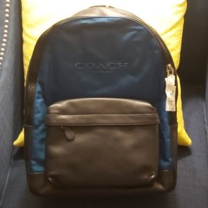 NWT Coach Charles Backpack